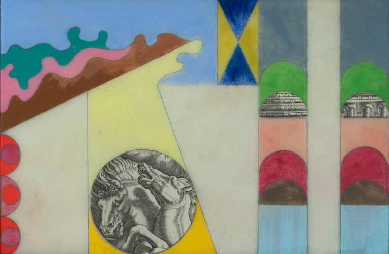 Don Joint Abstract Painting - Scenes from the History of the Argonauts, #1