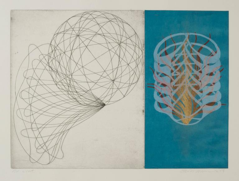 Steven Sorman Abstract Print - for wont
