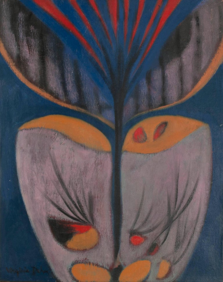 Virginia Dehn Abstract Painting - Persephone