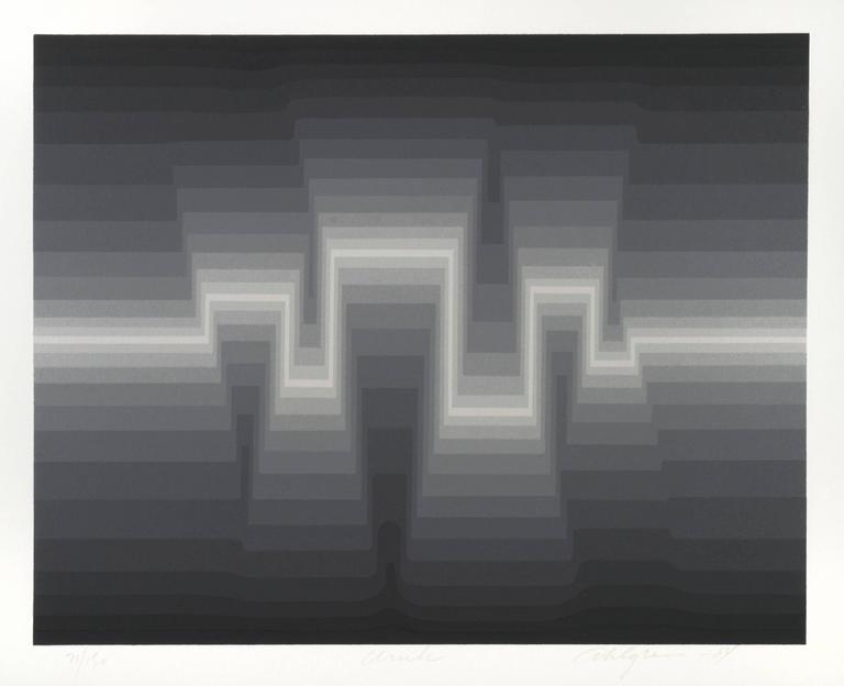 Roy Ahlgren Abstract Print - Uruk