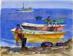 untitled (Returning Fishermen)