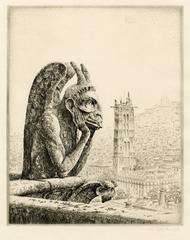 Le Penseur de Notre Dame (The Thinker of Notre Dame)