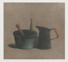 Mortar and Pestle with Funnel
