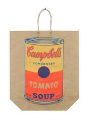 Campbells Tomato Soup Shipping Bag