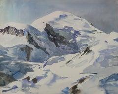 Robert Hallowell - Snowy Peaks