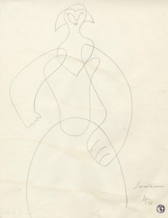 Untitled (Standing Woman)