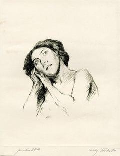 Weiblicher Akt, Brustbild (Female Nude)