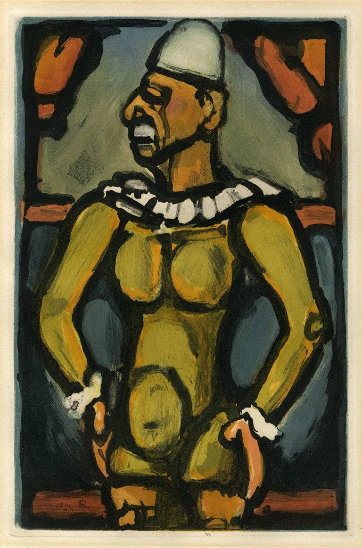 Georges Rouault Figurative Print - Triste Os (Sad Bones)