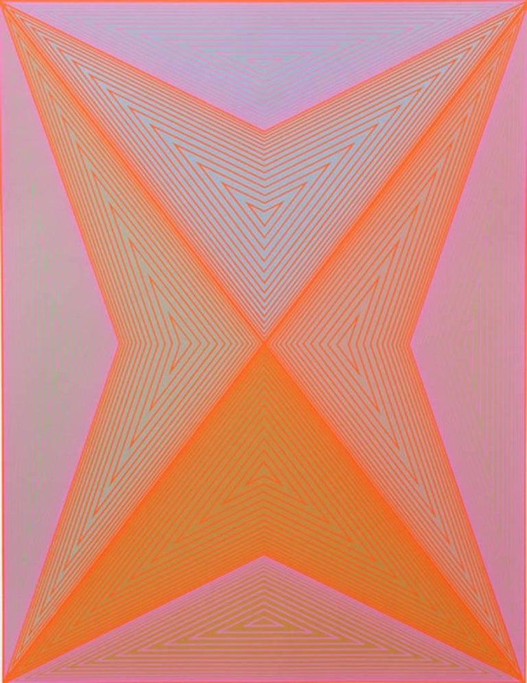 Richard Anuszkiewicz Abstract Print - untitled