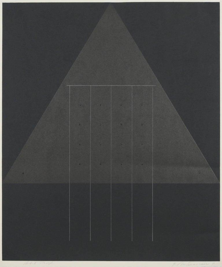 Garo Zareh Antreasian Abstract Print - untitled
