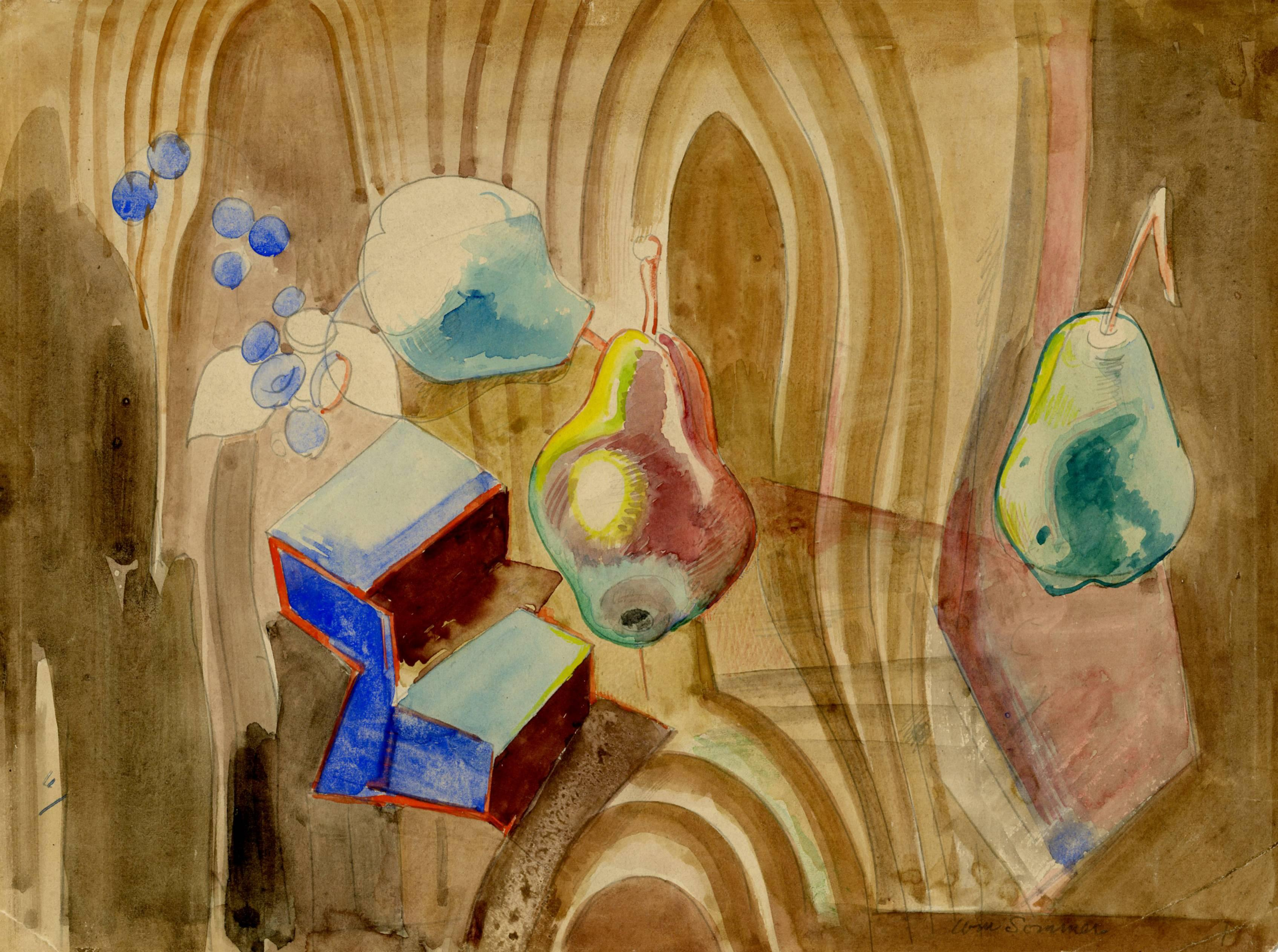 Still Life with Tromp L'Oeil