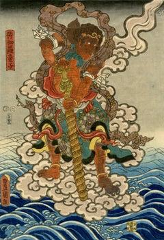 Buddhist Diety - Kongara Doji