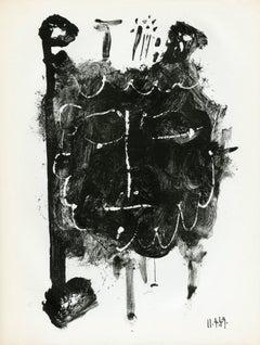 Plate 1 from Elegie d'Ihpetonga suive de Masques de cendre