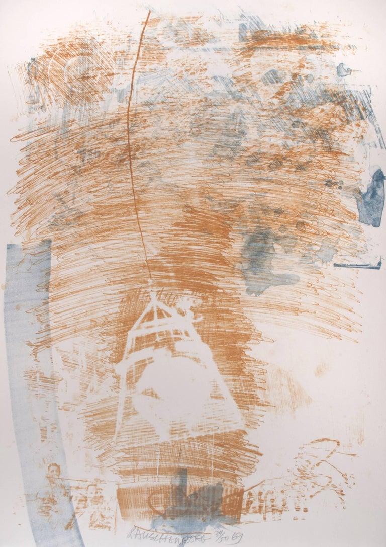 Robert Rauschenberg Spore Print For Sale At 1stdibs