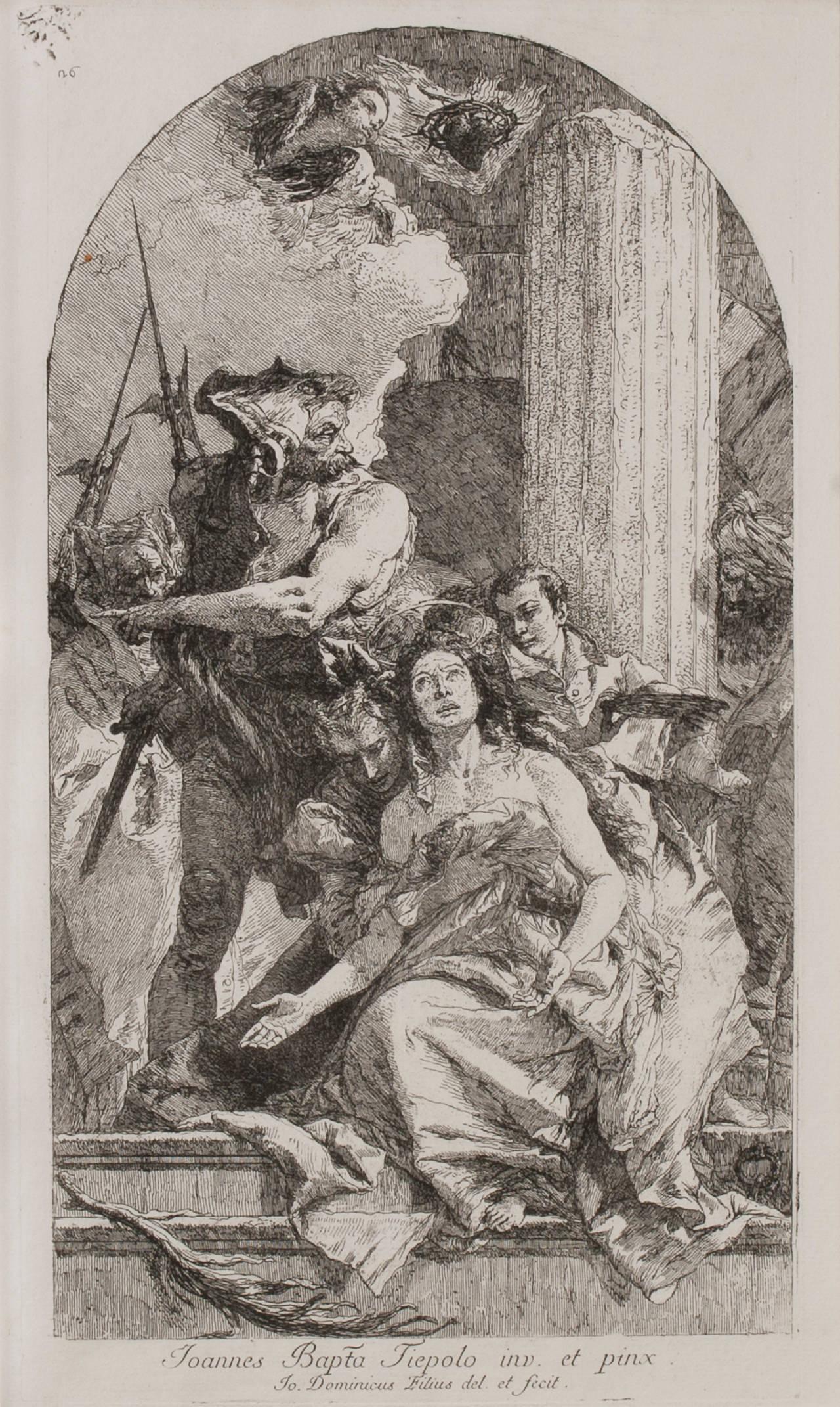 The Martyrdom of Saint Agatha
