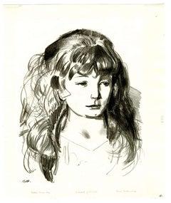 Sketch of Anne