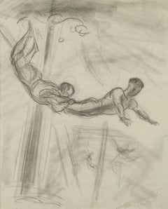 Untitled (Study for The Aerialists)