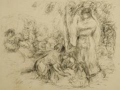 Les Laveuses, 2e Pensee (The Washerwoman)