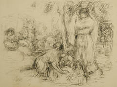 Image result for renoir washerwoman