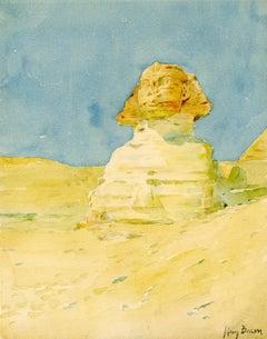 The Sphinx, Egyptian Study