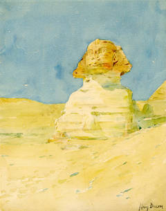 The Sphinx, Egyptian Study