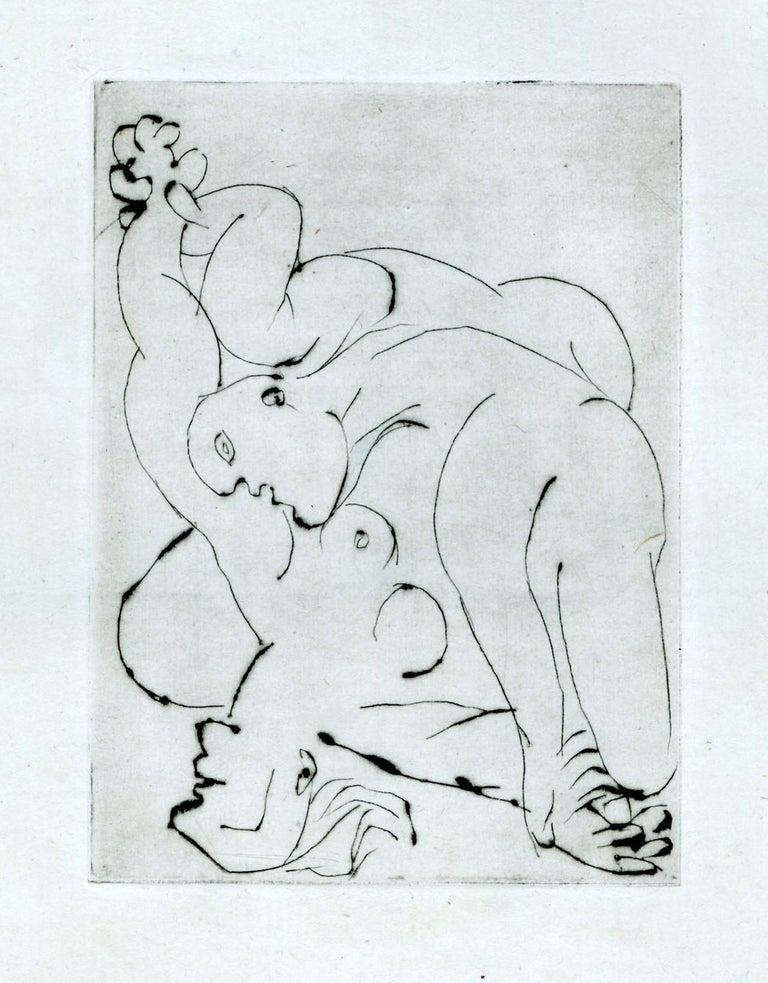 Pablo Picasso Nude Print - Le Voil, I