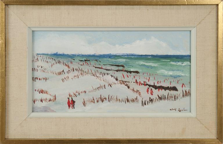Jersey Shore III - Painting by Adolf Arthur Dehn
