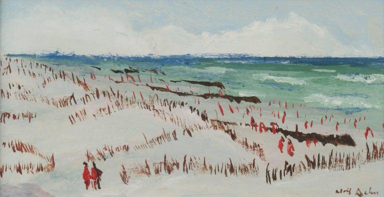 Adolf Arthur Dehn Landscape Painting - Jersey Shore III