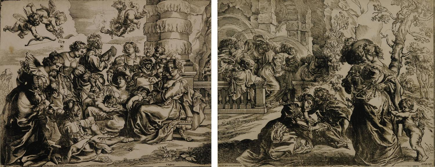 Christoffel Jegher - The Garden of Love (after Peter Paul Rubens ...