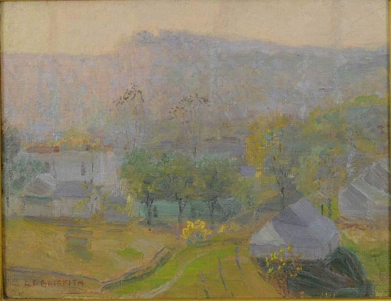 Nashville at Sunrise - Painting by Louis Oscar Griffith