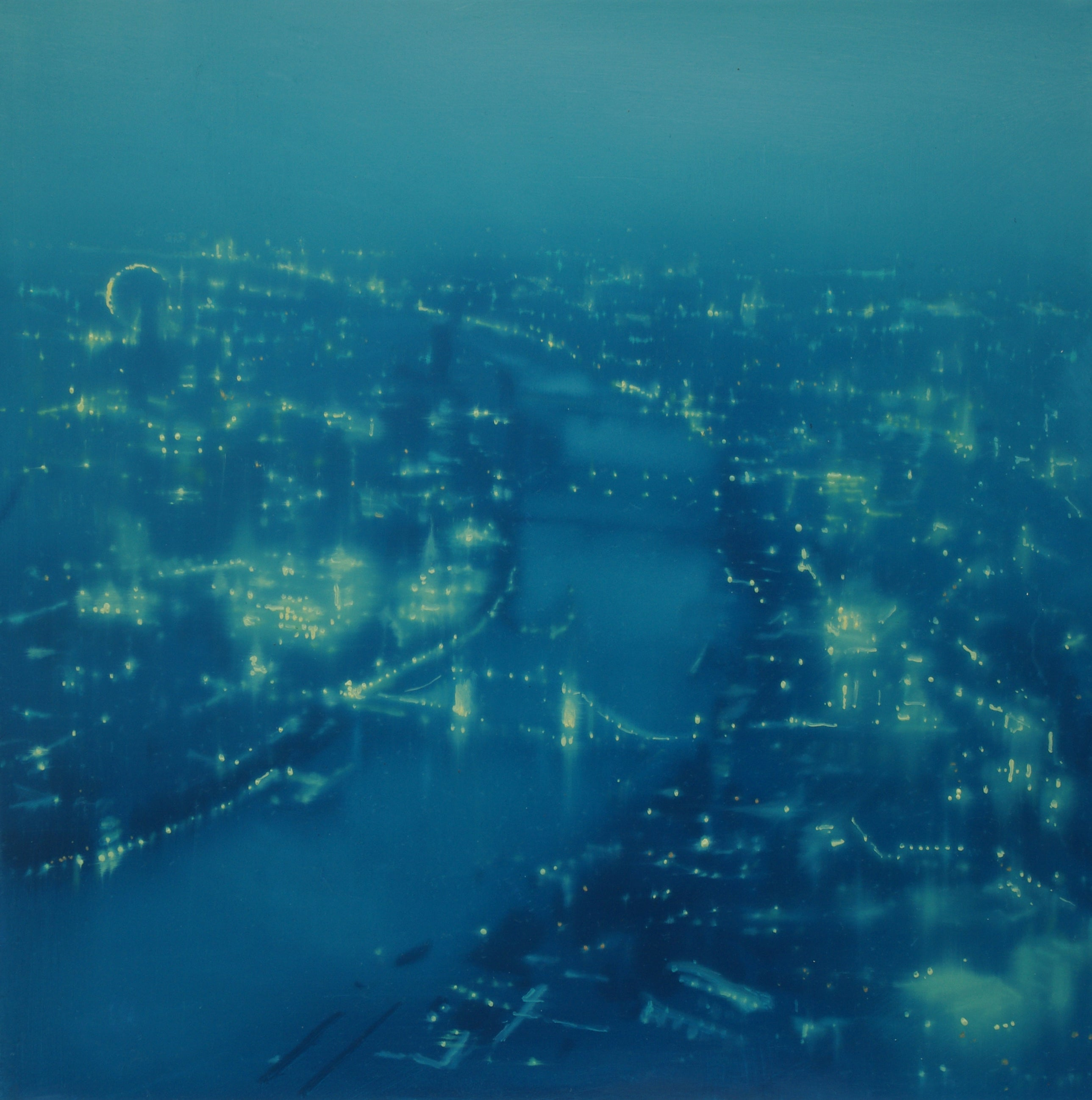 Blue Thames Bridges (London) Jenny Pockley Oil painting/study.