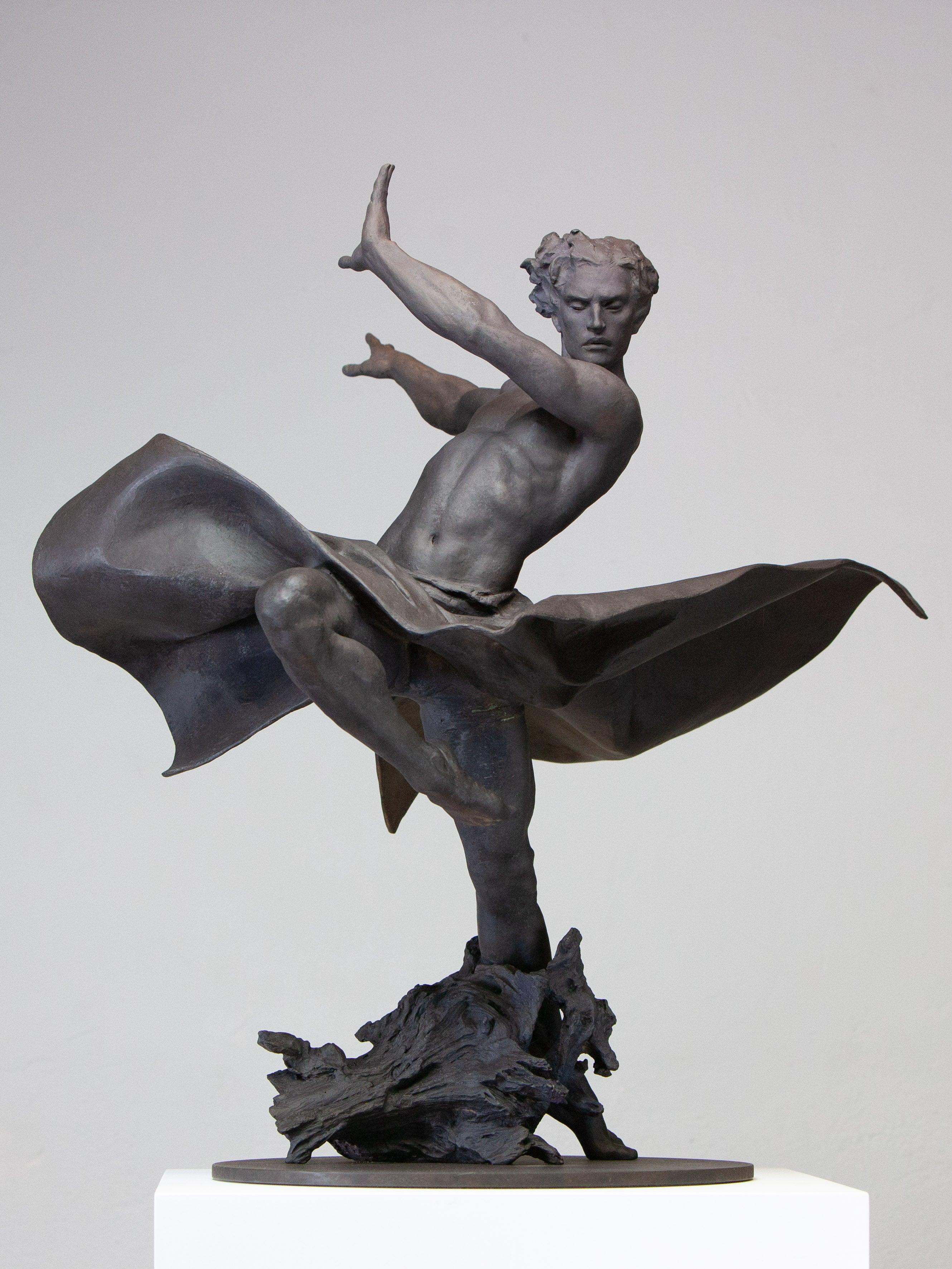 Coderch & Malavia. Liber. Bronze figurative sculpture.