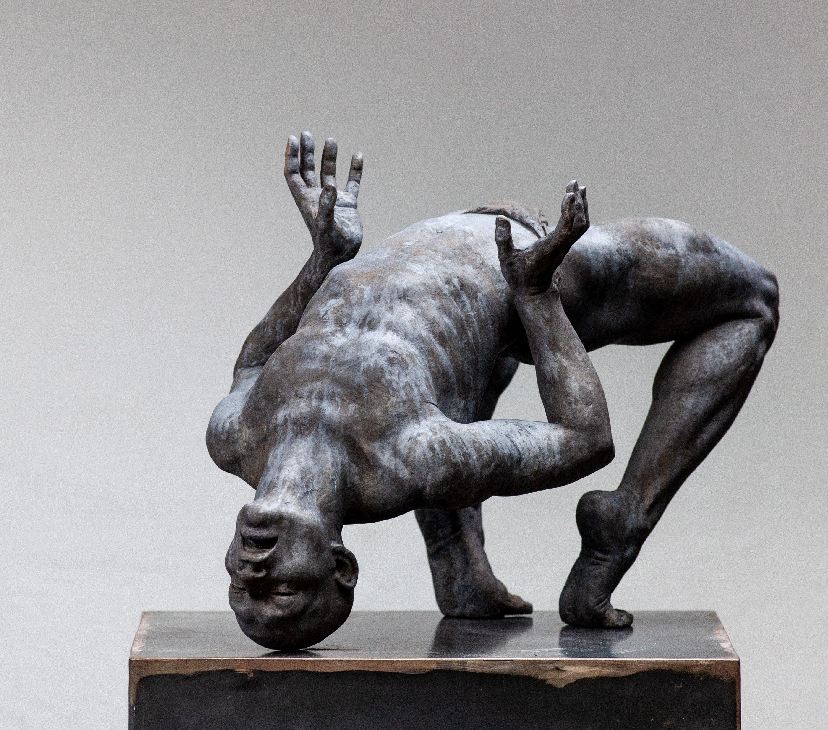 Coderch & Malavia. Revive. Bronze figurative sculpture.