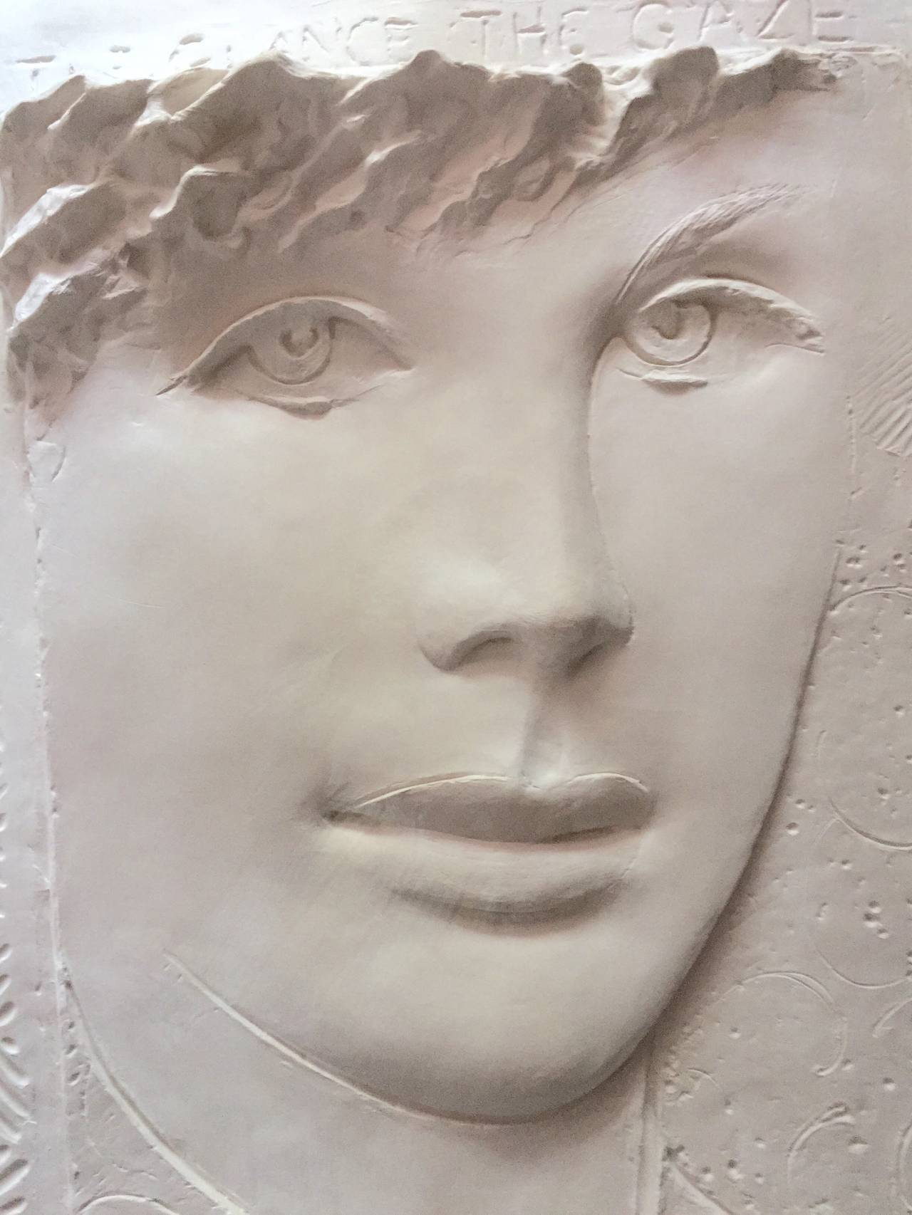 1970s The Fighter Resin Sculpture by Frank Gallo   Chairish
