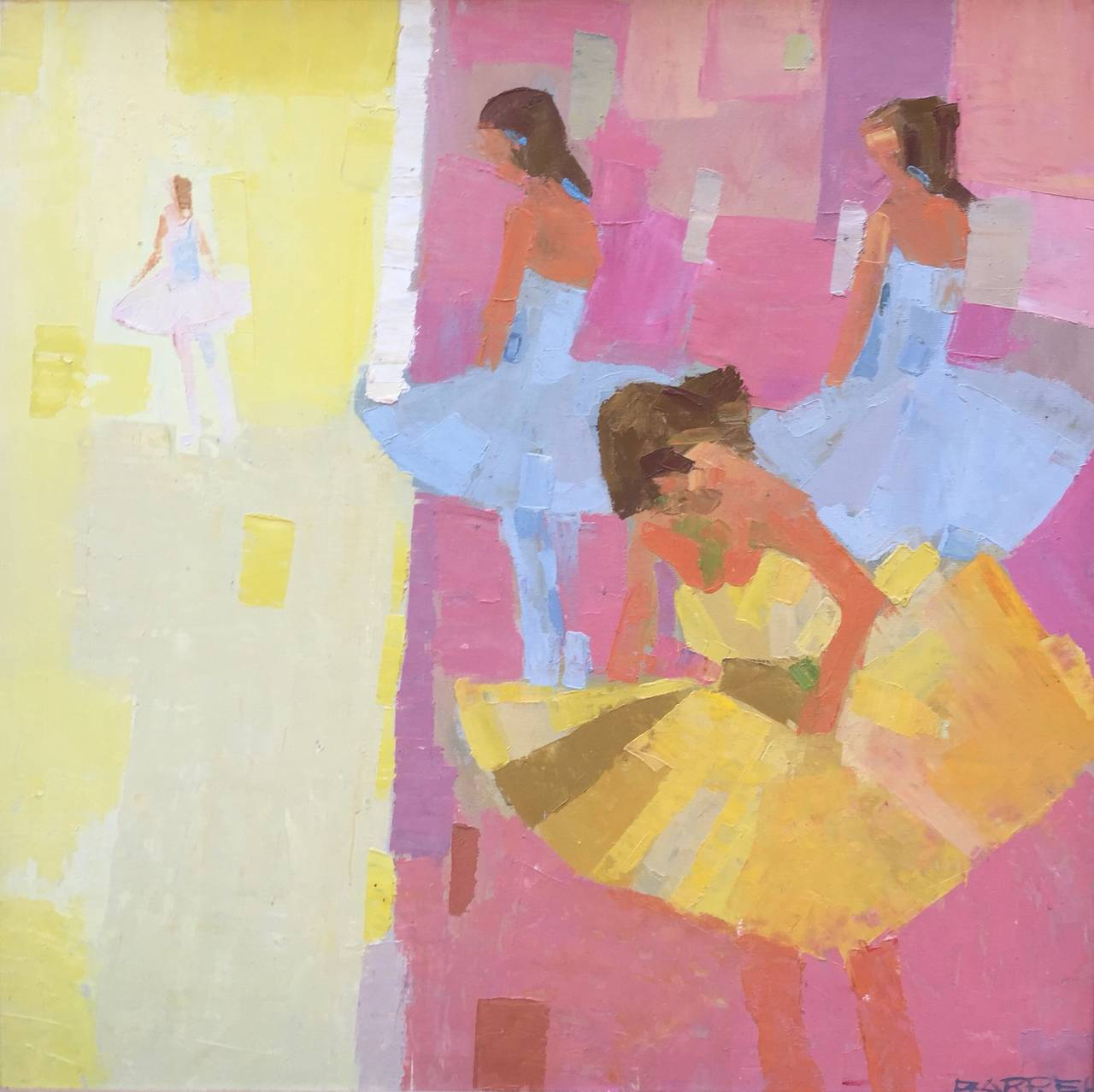 Which Artist Is Known For Paintings And Sculptor Of Ballerinas