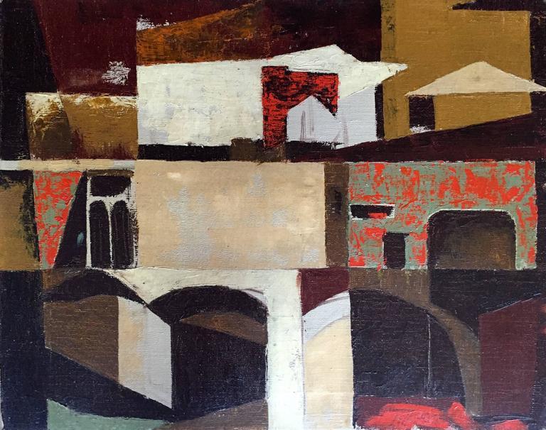 "Leo Villafana Abstract Painting - ""Untitled Abstract"""