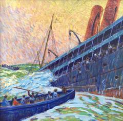 """""""Sinking of the Lusitania"""""""