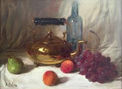 """Still Life with Kettle"""