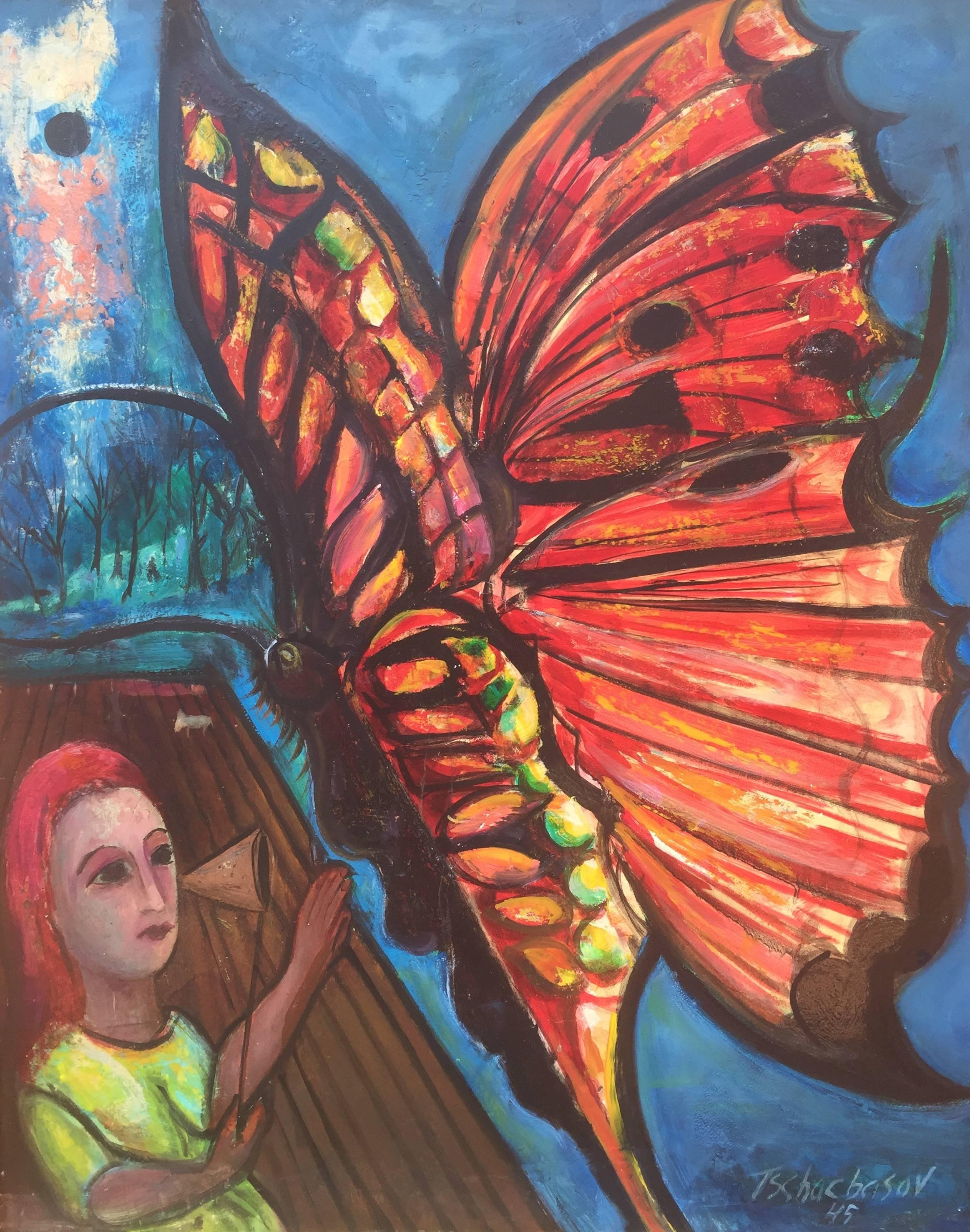 """""""Girl with Butterfly"""""""