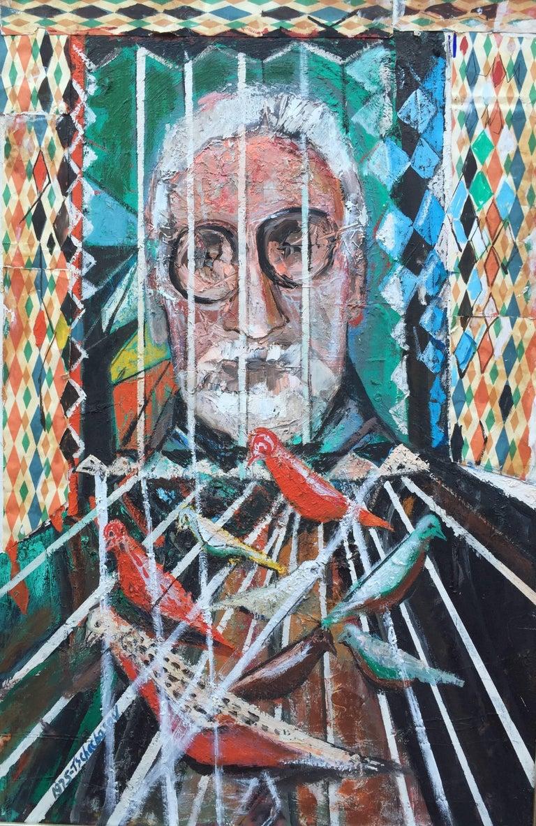 "Nahum Tschacbasov Portrait Painting - ""Portrait of Millen Brand"""