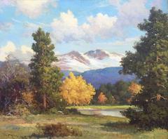"""""""Long's Peak, Colorado Aspens"""""""