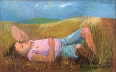 """Girl in the Grass"""