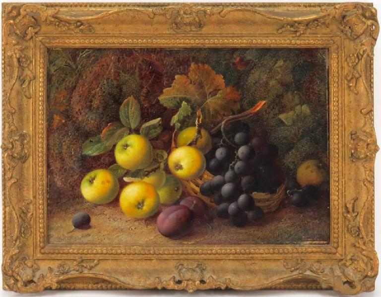 """Vincent Clare Still-Life Painting - """"Still Life with Fruit"""""""