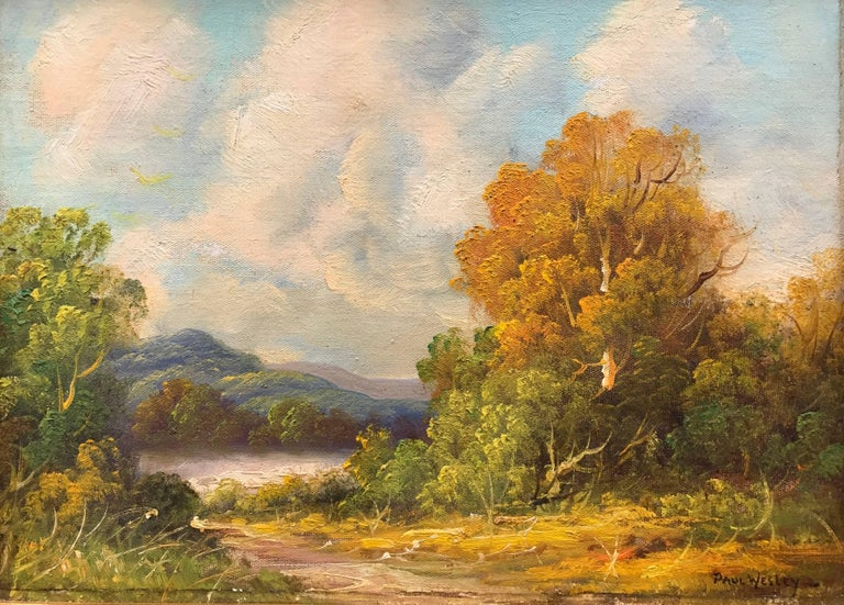"Paul Wesley Landscape Painting - ""In the Catskills"""
