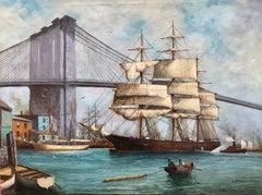 """""""Tall Ship, Brooklyn Bridge"""""""