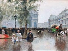 """Strolling Arc de Triomphe"""