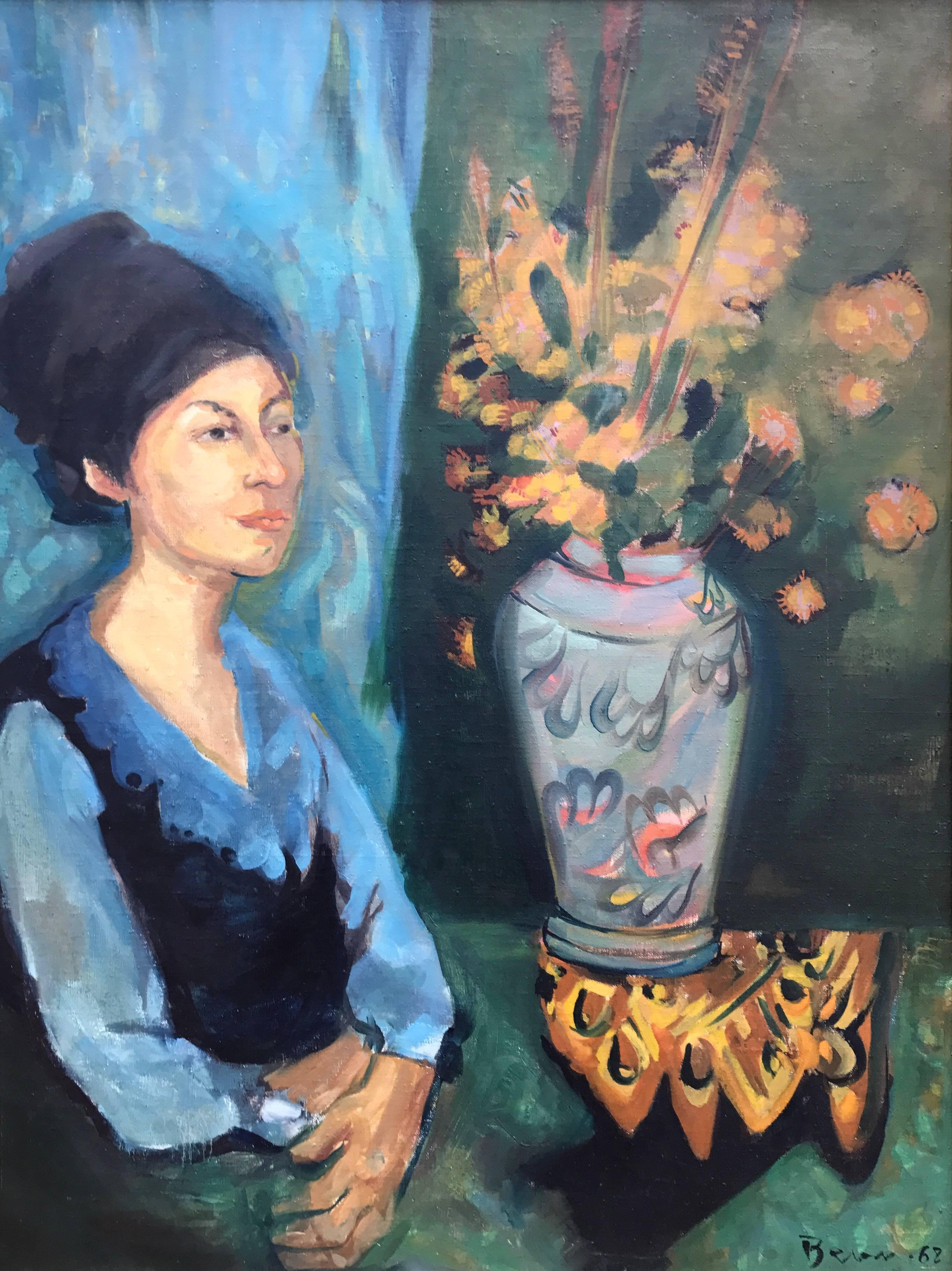 """""""Woman with Flowers"""""""