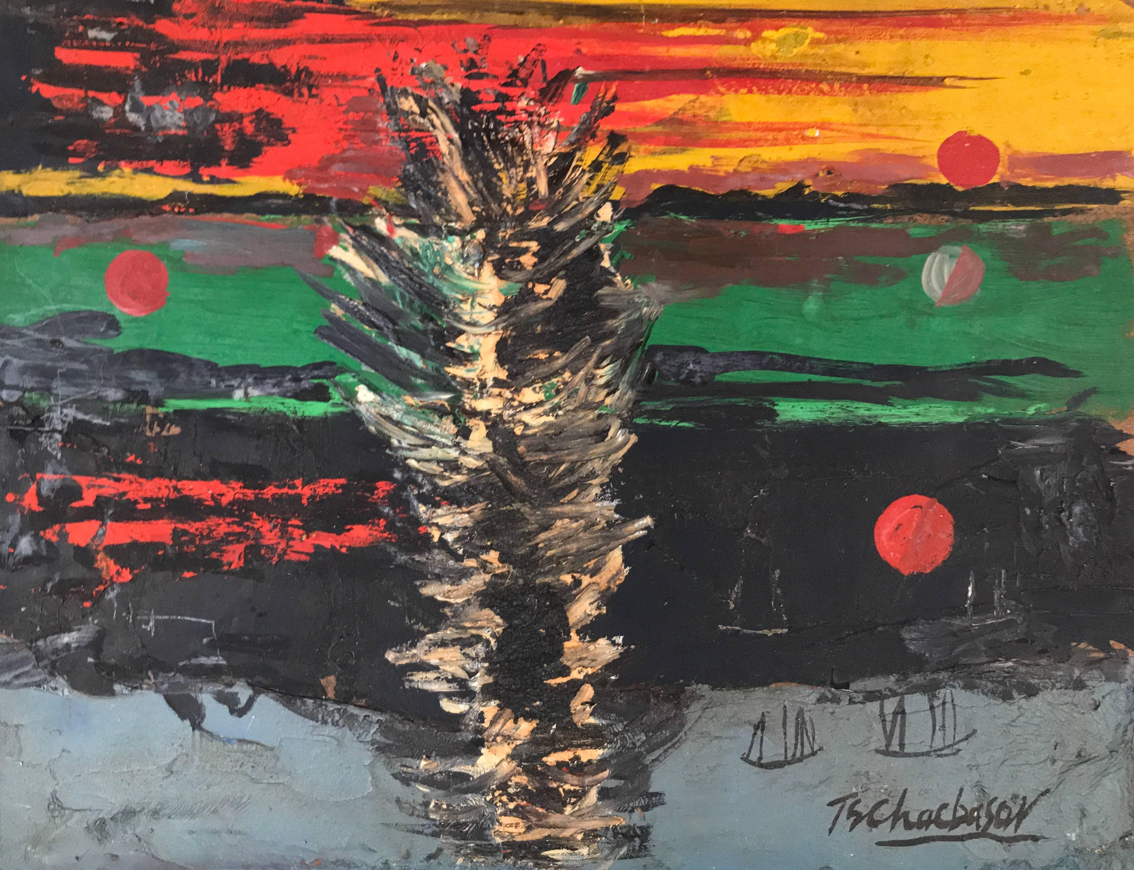 """Solar Sunset"""