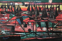 """Abstract Sailing, 1945"""