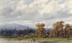 """Washer Women along the Seine"""